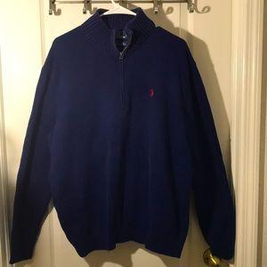 SALE* Polo by Ralph Lauren Men's zip down Sweater